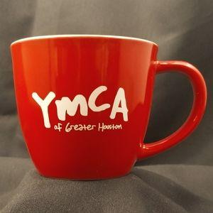 "RED ""YMCA"" COFFEE MUG"